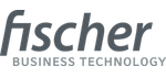 Fischer Business Technology Logo in grau